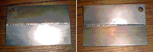 Solar FLux B przód-i-tył spoiny
